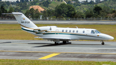 HK-5120 - Cessna 525 Citationjet CJ4 - Helicol Colombia
