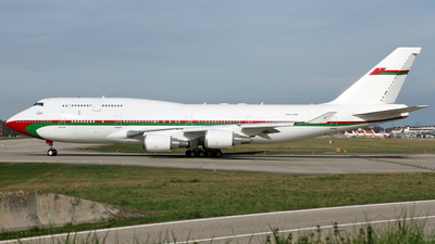 A4O-OMN - Boeing 747-430 - Oman - Royal Flight