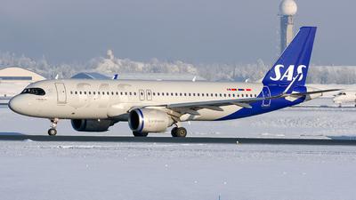 A picture of SEROJ - Airbus A320251N - SAS - © Laszlo Fekete