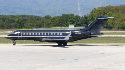 VQ-BKI - Bombardier BD-700-1A10 Global Express XRS - Gama Aviation