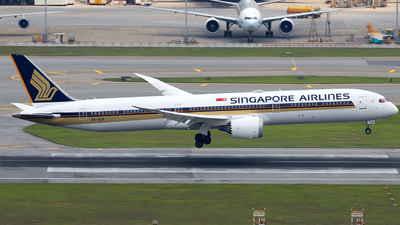 9V-SCN - Boeing 787-10 Dreamliner - Singapore Airlines