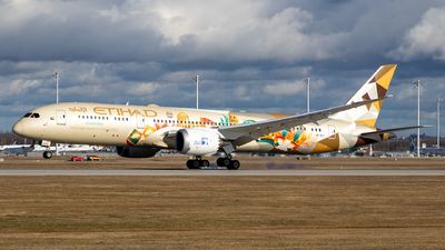 A picture of A6BLH - Boeing 7879 Dreamliner - Etihad Airways - © THPlanespotting