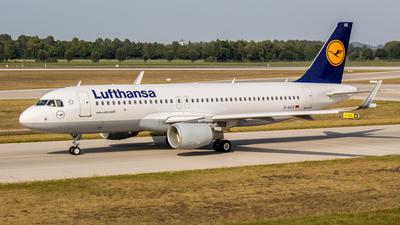 D-AIUX - Airbus A320-214 - Lufthansa