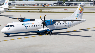A picture of C6BFQ - ATR 72600 - [1293] - © James Rowson