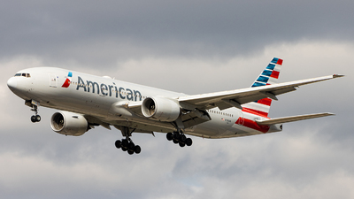 A picture of N790AN - Boeing 777223(ER) - American Airlines - © Sean Brink