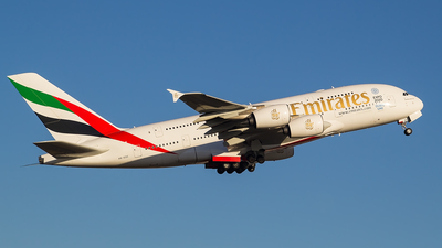 A6-EDC - Airbus A380-861 - Emirates