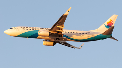 A picture of B7630 - Boeing 73783Z - Donghai Airlines - © DY-76