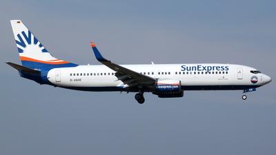 D-ASXE - Boeing 737-8CX - SunExpress Germany