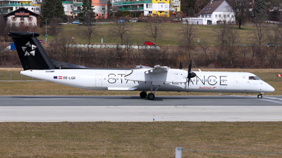 A picture of OELGR - De Havilland Canada Dash 8400 - Austrian Airlines - © Lorenz Kafenda