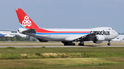A picture of LXVCG - Boeing 7478R7(F) - Cargolux - © Vicknesh PS