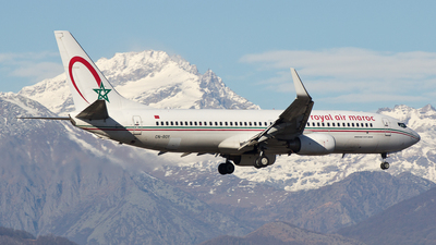 CN-ROY - Boeing 737-8B6 - Royal Air Maroc (RAM)