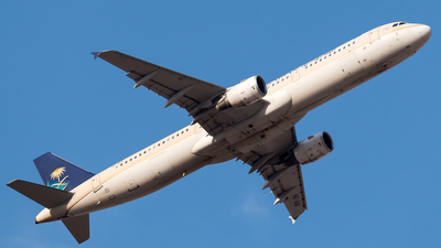 A picture of HZASI - Airbus A321211 - Saudia - © AirlinerSpotter