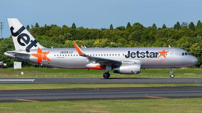 JA24JJ - Airbus A320-232 - Jetstar Japan Airlines