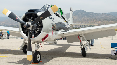 N787AS - North American T-28B Trojan - Private