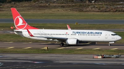 A picture of TCJVP - Boeing 7378F2 - Turkish Airlines - © Teemu Pesonen