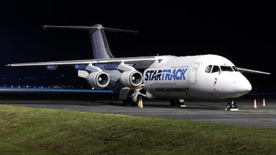 A picture of VHNJM - BAe 146300(QT) - National Jet Express - © Ben Long