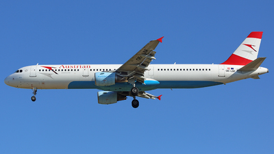 OE-LBF - Airbus A321-211 - Austrian Airlines