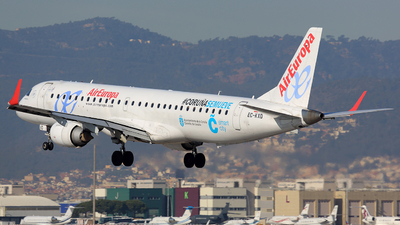 EC-KXD - Embraer 190-200LR - Air Europa