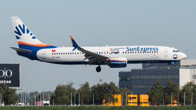 A picture of TCSOE - Boeing 7378HC - SunExpress - © Tjorve. Henzler