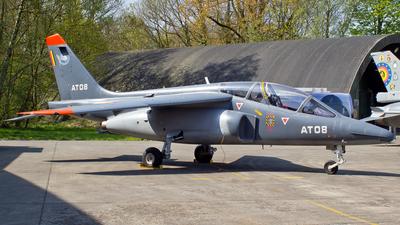 AT-08 - Dassault-Dornier Alpha Jet 1B+ - Belgium - Air Force