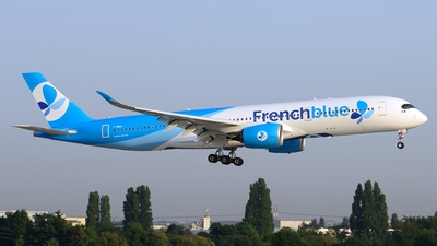 F-HREU - Airbus A350-941 - French Blue
