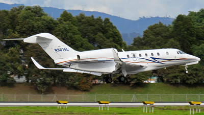 N387SL - Cessna 750 Citation X - Private