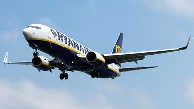 EI-DWS - Boeing 737-8AS - Ryanair