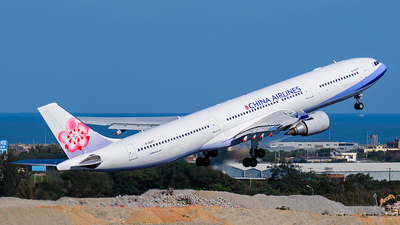 A picture of B18357 - Airbus A330302 - China Airlines - © ECHO