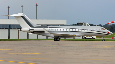 LX-GXX - Bombardier BD-700-1A10 Global Express - Global Jet Luxembourg