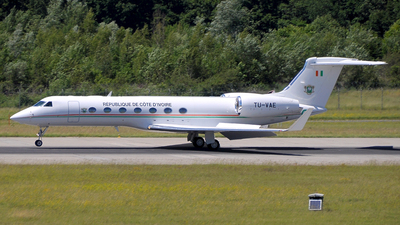 TU-VAE - Gulfstream G550 - Ivory Coast - Air Force