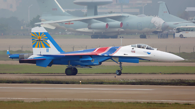 11 - Sukhoi Su-27 Flanker - Russia - Air Force