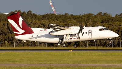 A picture of VHQQI - De Havilland Canada Dash 8100 - Skytrans - © Daniel Benefield