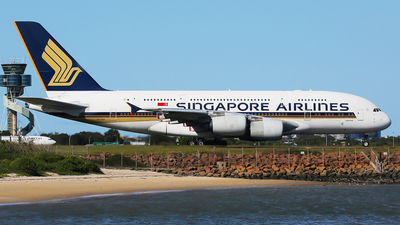 A picture of 9VSKR - Airbus A380841 - Singapore Airlines - © Mark H