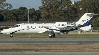 LV-HXK - Bombardier Learjet 60 - Private