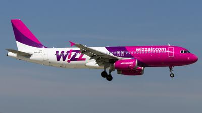 HA-LPJ - Airbus A320-232 - Wizz Air