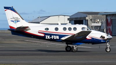 ZK-FDN - Beechcraft C90A King Air - Garden City Helicopters
