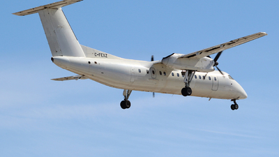 A picture of CFEXZ - De Havilland Canada Dash 8300 - Voyageur Airways - © Guy Langlois