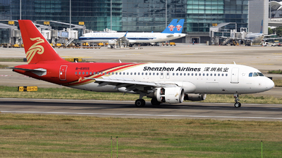 A picture of B6855 - Airbus A320214 - Shenzhen Airlines - © nibrage