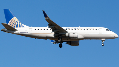 A picture of N86344 - Embraer E175LR - United Airlines - © Alec Mollenhauer