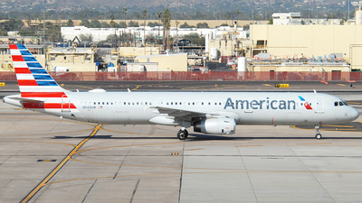 A picture of N543UW - Airbus A321231 - American Airlines - © Jason Whitebird