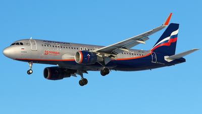 A picture of VPBIY - Airbus A320214 - Aeroflot - © BizavMen