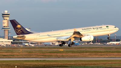 HZ-AQ19 - Airbus A330-343 - Saudi Arabian Airlines