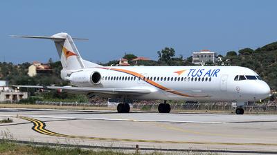 5B-DDE - Fokker 100 - Tus Airways