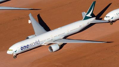B-KPD - Boeing 777-367ER - Cathay Pacific Airways