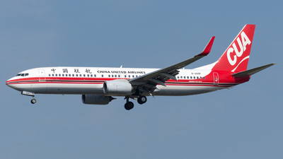 A picture of B209F - Boeing 73789P - China United Airlines - © PVG ZHANG