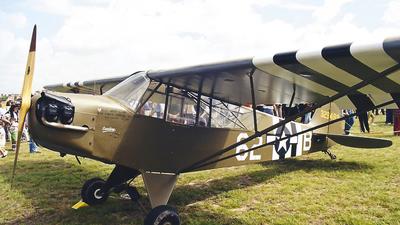 EC-GQE - Piper J-3C-65 Cub - Fundación Infante de Orleans