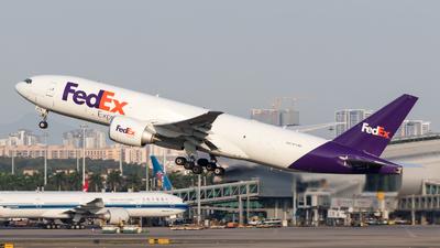 N879FD - Boeing 777-FS2 - FedEx