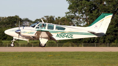 N564DL - Beechcraft 95-D55 Baron - Private