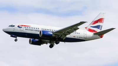 G-GFFA - Boeing 737-59D - British Airways