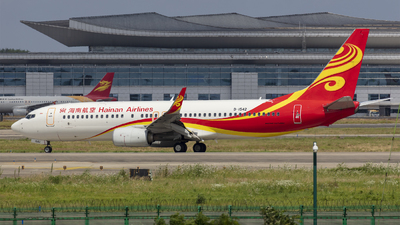 A picture of B1542 - Boeing 73784P - Hainan Airlines - © Eric Wang
